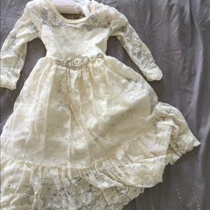 Other - Little girls long sleeve lace dress